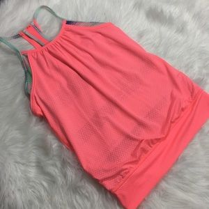 Ivivva Girls Athletic Tank Pink Size 12